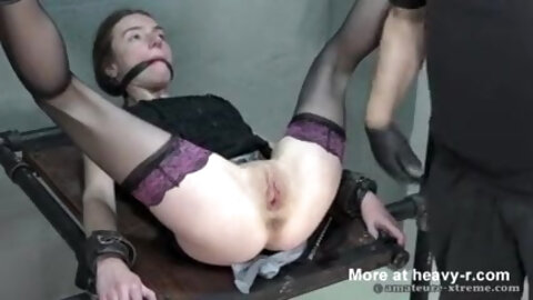 Peehole sounding and fisting of Petite German slut
