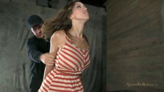 Hot and sexy brunette is mad about BDSM. Just check out this Sexually Broken clip and you'll see how spoiled this hooker is. She gets her hands t