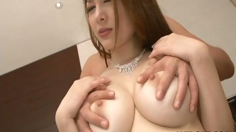 Ardent Asian chick with awesome appetizing boobs and flossy ass is pro in seducing a man. This hooker likes when her boobs are licked. She moans and w